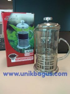 French Press Coffee Plunger 600 ml Image