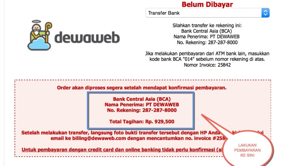 cara simple bikin web